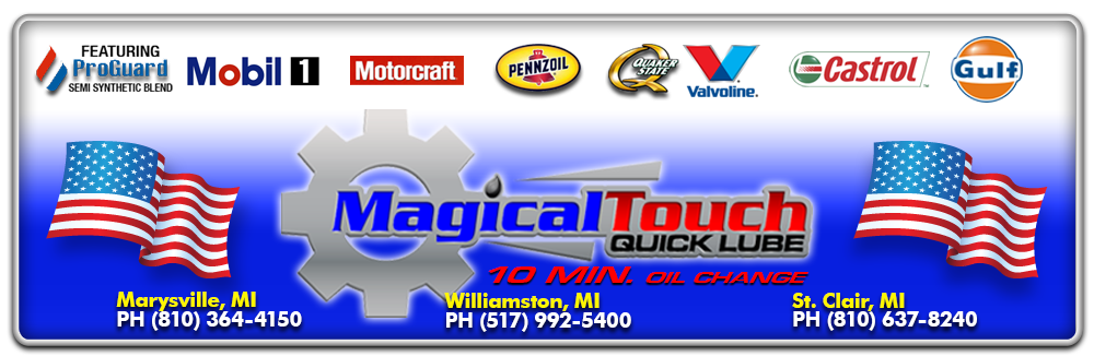 Magical Touch Quick Lube - Williamston, MI