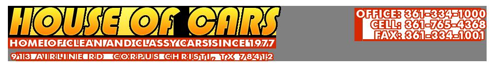 House Of Cars - Corpus Christi, TX