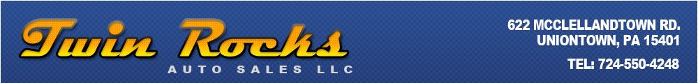 Twin Rocks Auto Sales LLC - UNIONTOWN, PA