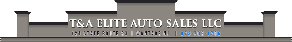 T & A Elite Auto Sales LLC - Wantage, NJ