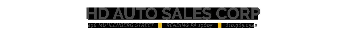 HD Auto Sales Corp. - Reading, PA