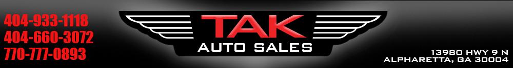 TAK Auto Sales - Alpharetta, GA