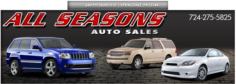 All Season Auto Sales - Springdale, PA