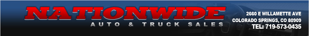 NATIONWIDE AUTO & TRUCK SALES - Colorado Springs, CO