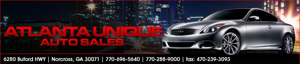 Atlanta Unique Auto Sales - NORCROSS, GA