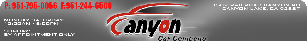 Canyon Car Company - Canyon Lake, CA