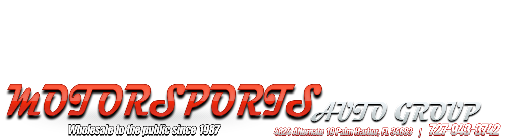 MOTORSPORTS AUTO GROUP - Palm Harbor, FL