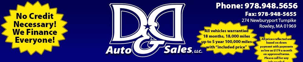 D&D Auto Sales, LLC - Rowley, MA