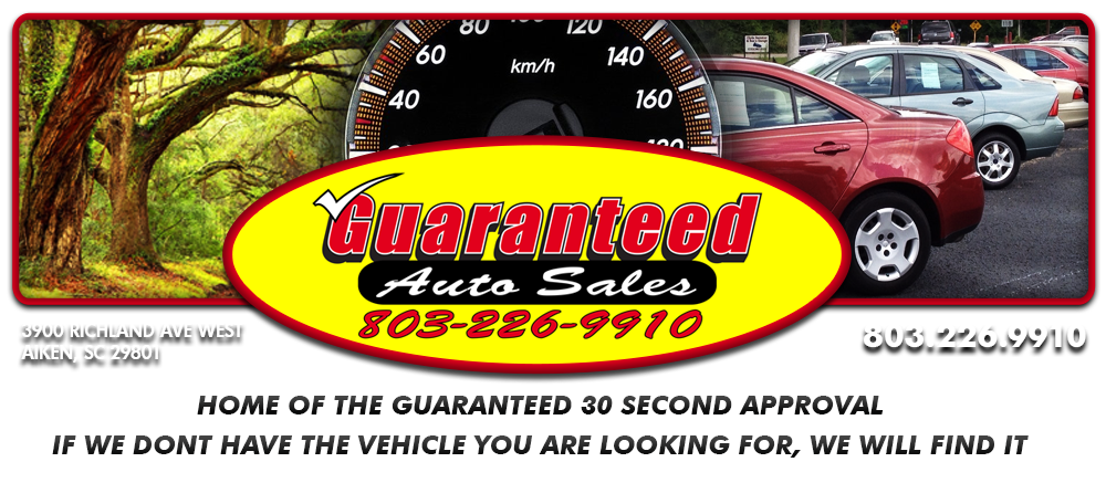 Guaranteed Auto Sales - Aiken, SC