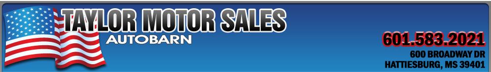 Taylor Motor Sales / Autobarn - Hattiesburg, MS
