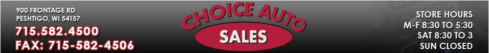 Choice Auto Sales - Peshtigo, WI