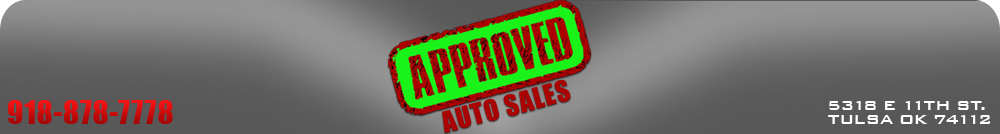 Approved Auto Sales LLC - Tulsa, OK