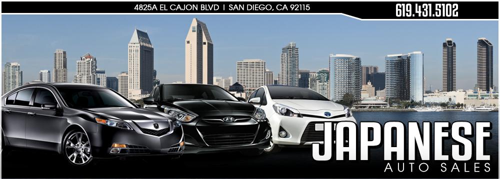 Japanese Auto Sales - El Cajon, CA