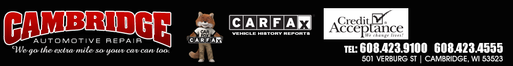 Cambridge Automotive Repair - Cambridge, WI