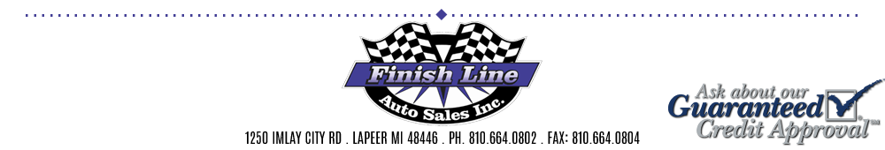 Finish Line Auto Sales Inc. - Lapeer, MI