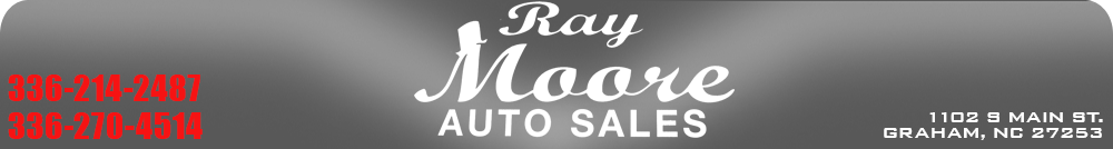 Ray Moore Auto Sales - Graham, NC