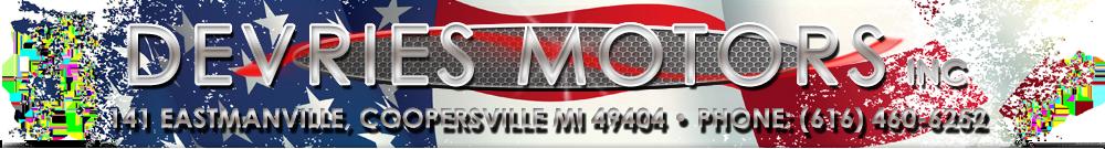 DeVries Motors Inc - Coopersville, MI