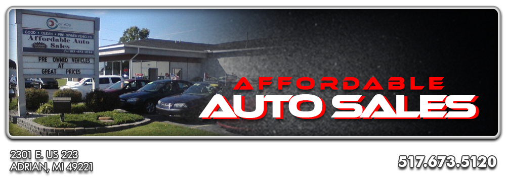 Affordable Auto Sales - Adrian, MI
