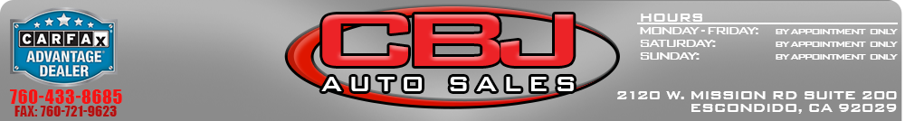 CBJ AUTO SALES - Oceanside, CA