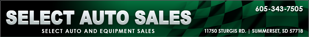 Select Auto Sales - Summerset, SD