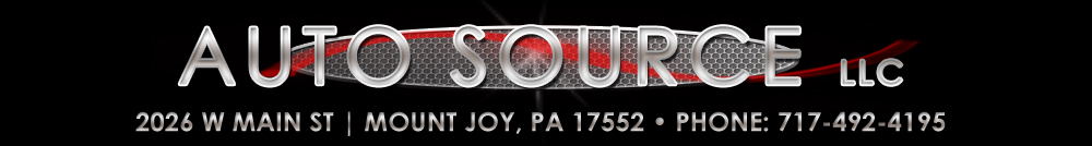 AUTO SOURCE LLC - Mount Joy, PA