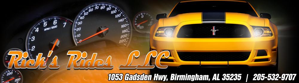 Rick's Rides LLC - Birmingham, AL