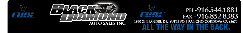 Black Diamond Auto Sales Inc. - Rancho Cordova, CA