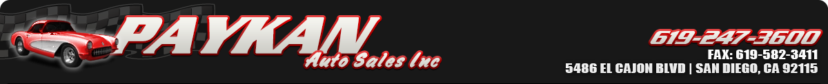 Paykan Auto Sales Inc - San Diego, CA