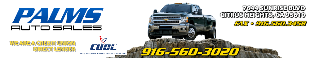 Palms Auto Sales - Citrus Heights, CA
