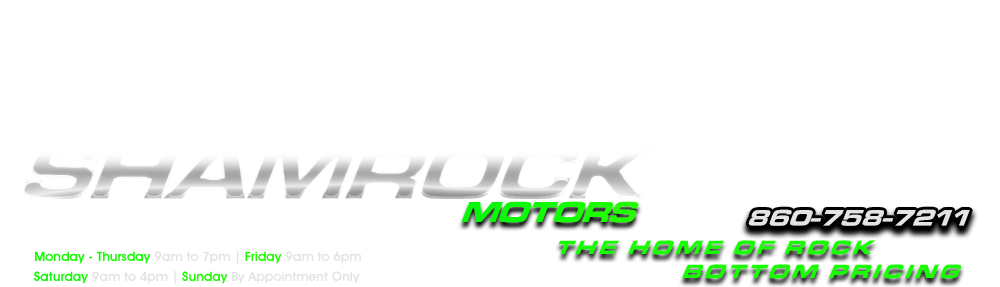 Shamrock Motors - East Windsor, CT