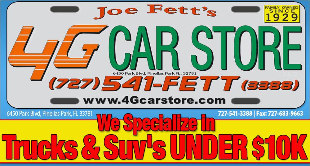 Joe Fett's 4G Car Store - Pinellas Park, FL