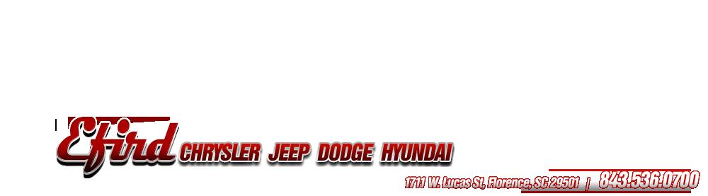 Efird Chrysler Jeep Dodge Hyundai - Florence, SC