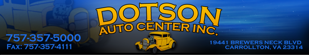 Dotson Auto Center Inc. - Carrollton, VA