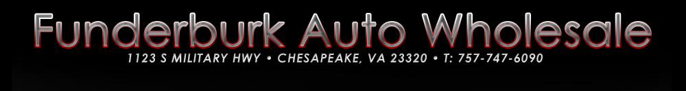 Funderburk Auto Wholesale - Chesapeake, VA