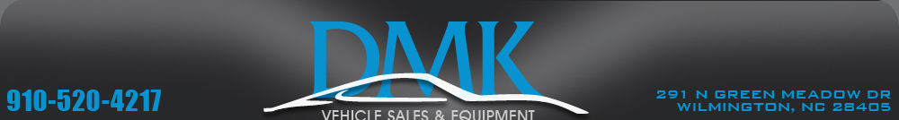 DMK Vehicle Sales and  Equipment - Wilmington, NC