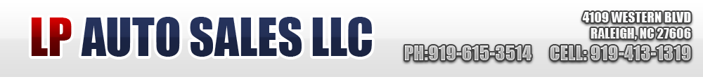 LP AUTO SALES LLC - Raleigh, NC