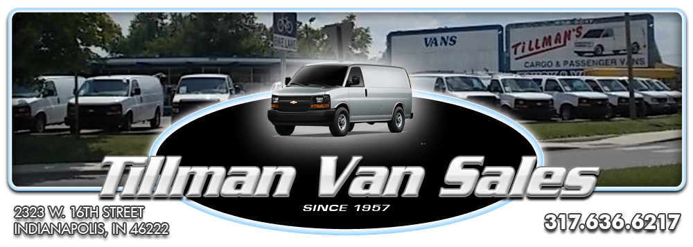 Tillman Van Sales - Indianapolis, IN