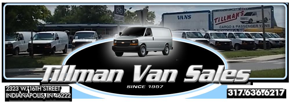 Tillman Van Sales - Indianapolis, IN