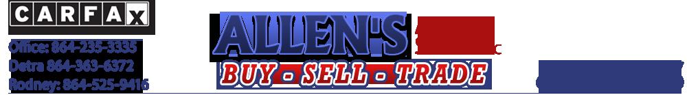 Allen's Auto Sales LLC - Greenville, SC