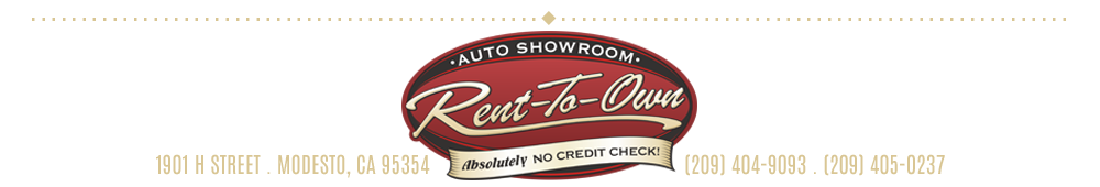 Rent To Own Auto Showroom LLC - Modesto, CA