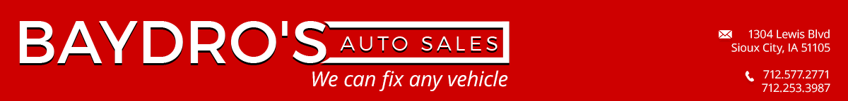 Baydro's Auto Sales - Sioux City, IA