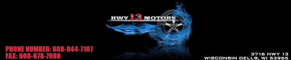 Hwy 13 Motors - Wisconsin Dells, WI