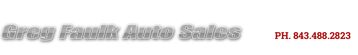 Greg Faulk Auto Sales Llc - Conway, SC