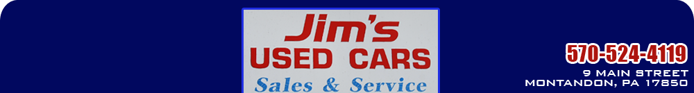 Jim's Used Cars - Montandon, PA