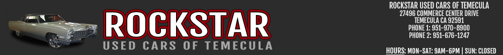 ROCKSTAR USED CARS OF TEMECULA - Temecula, CA