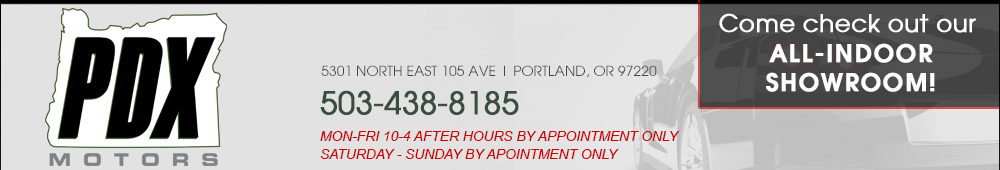 PDX Motors - Portland, OR