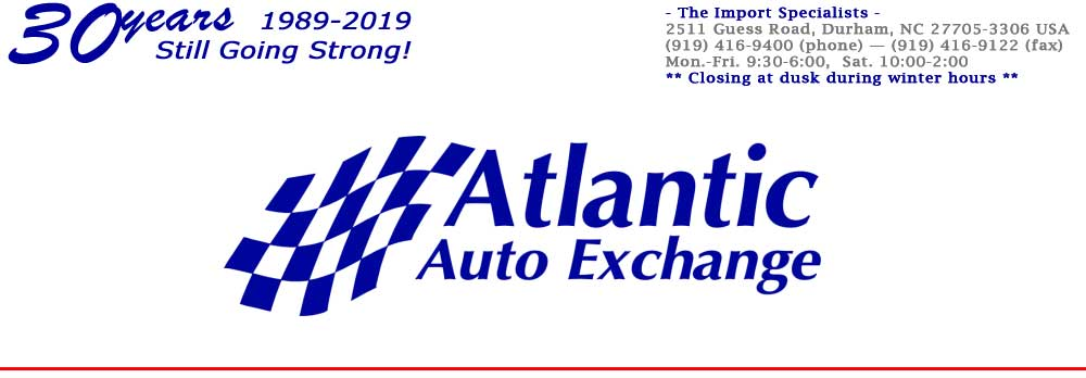 Atlantic Auto Exchange Inc - Durham, NC