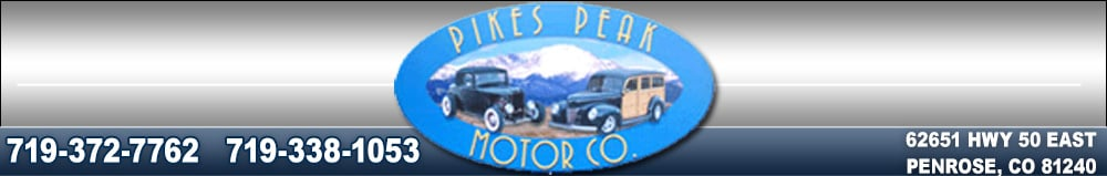 Pikes Peak Motor Co - Penrose, CO