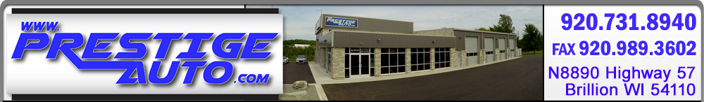 Prestige Auto Sales - Brillion, WI
