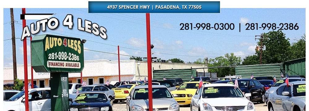 Auto 4 Less - Pasadena, TX